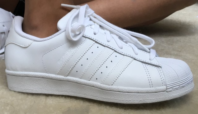 fake adidas superstar all white